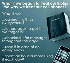 When was the last time Jehovah spoke to you on your cell phone? Jehovah doesn't use cell phones to communicate with us, but he does use the Bible.