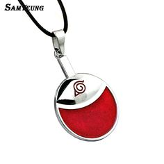Samyeung 10 Pieces Lot Sale Naruto Necklace for Male Stainless Steel Necklaces Man Ninja Neckless Cosplay Anime Japanese Jewelry
