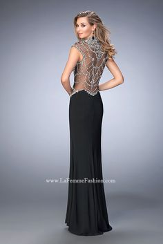 Look red-carpet-ready in Gigi Prom Style 22776 available at WhatchamaCallit Boutique