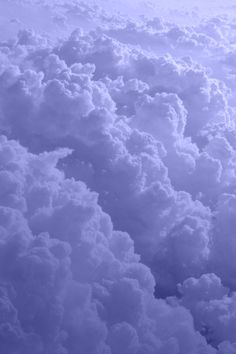 Periwinkle Clouds More Blue