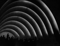 Hollywood Bowl  Orchestra at Night  circa: 1937