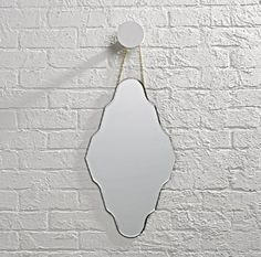 Shop Looking Glass Diamond Mirror. Our Glass Mirror is available in a variety of different shapes and styles, so you can find one that reflects your mood perfectly. Kids Mirrors, Round Mirrors, Two Tone Walls, Whimsical Nursery, Industrial Shelving, Mirror Set, Kids Decor, Diamond Shapes, Crate And Barrel