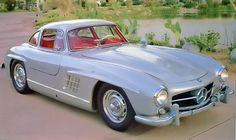 1956 Mercedes-Benz 300SL, just like the car I helped Greg Young restore, then drove it to Solvang, CA. A Trip!