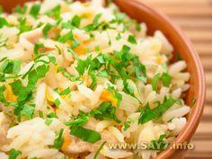 Курица по-египетски Russian Recipes, Risotto, Cantaloupe, Potato Salad, Salsa, Good Food, Rice, Favorite Recipes, Dinner