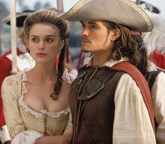 Kiera Knightly - Pirates of the Carribean