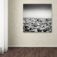 Pebble Beach by Dave MacVicar Photographic Print on Wrapped Canvas