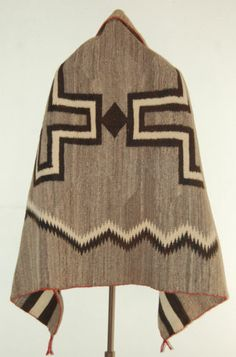 1885-95 CHURRO TRANSITIONAL Dbl CROSS NAVAJO BLANKET Indian rug Weave RANCHFOLKS