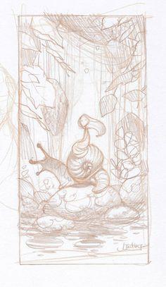 quickhidehere.blogspot.com Justin Gerard- thumbnail sketch