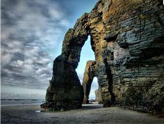 plage des Cathedrals  Galice Espagne