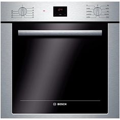 Bosch 24 Inch Single Electric Wall Oven with cu. Capacity, European Convection Cooking, Telescopic Rack, Halogen Lighting, Delay Start and DualClean Cleaning System