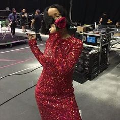 Rihanna Cancels Her Grammy Performance But Makes a Big Fashion Statement All the Same