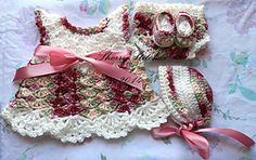 Ravelry: Little White Dress pattern by SarahSweethearts