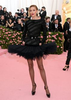 Anja Rubik in Saint Laurent at the 2019 Met Gala—Camp: Notes on Fashion . Anja Rubik in Saint Laurent at the 2019 Met Gala—Camp: Notes on Fashion Anja Rubik, Edie Campbell, Susan Sontag, Winnie Harlow, Florence Welch, Dior Haute Couture, Donatella Versace, Anna Wintour, Jeremy Scott