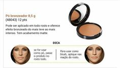 Pó bronzeador, use no rosto todo ou como blush. Adquira online no site: rede.natura.net/espaco/prazeremsecuidar