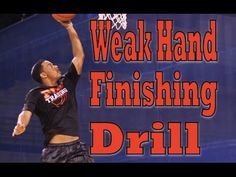 How To: Improve Your Weak Hand Finishing Basketball Workouts, Basketball Skills, Basketball Players, Drills, Glutes, Nba, Hoop, Improve Yourself, Coaching