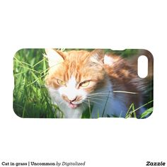 Purchase a new Photography case for your iPhone! Shop through thousands of designs for the iPhone iPhone 11 Pro, iPhone 11 Pro Max and all the previous models! Cat Lover Gifts, Cat Lovers, Iphone 7 Covers, Grass, Photos, Photography, Animals, Pictures, Photograph