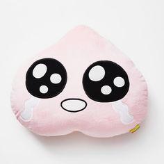 Kakao Friends Official Goods Apeach Face Cushion Pillow Home Travel GKKF0005 #KakaoFriends #CharacterKakaoFriends