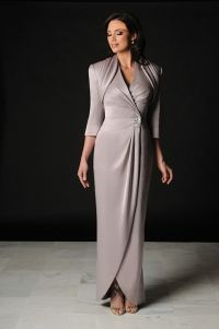 Vera's Ladies Apparel + Daymor Couture Daymor Couture gray mother-of wedding dress with jacket | As seen on TodaysBride.com