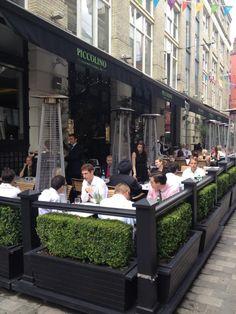 Piccolino - Italian Restaurant in London #GardenBoxes