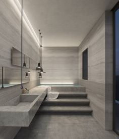 Dreaming of a designer or luxury bathroom? We've gathered together lots of gorgeous bathroom ideas for small or large budgets, including baths, showers, sinks and basins, plus bathroom decor ideas. Best Interior Design, Bathroom Interior Design, Luxury Interior, Home Decor Instagram, Contemporary Bathroom Designs, Contemporary Interior, Modern Design, Shower Remodel, Remodel Bathroom