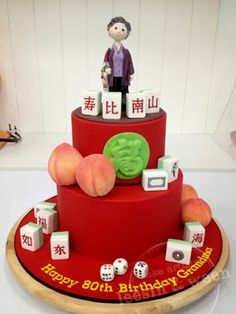 This Is My Chinese New Years Cake Cake Dummy Sweet Delight Cakes