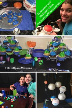 Miles From Tomorrowland birthday party ideas and printables