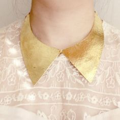Young Frankk Brass Collar Necklace