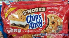 SPOTTED ON SHELVES: Nabisco S'mores and Red Velvet Chips Ahoy Cookies