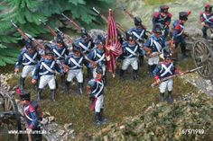 Wuerttemberg Napoleonic Line Infantry and Light Infantry Füsiliers, 1808–1812 Miniatures Conversions in 1:72 Scale