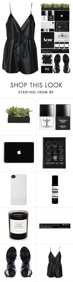 """""""Don't you know all night I've been waiting for a girl like you to come around?"""" by onedirectiondress ❤ liked on Polyvore featuring Lux-Art Silks, Butter London, Incase, Aesop, CASSETTE, Byredo, ASOS, H&M and Boohoo"""