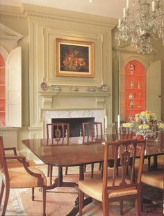 Early American Colonial Interiors | Amiable Abode: Colonial interiors old and new | Early American House