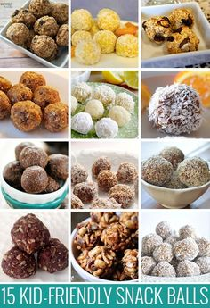 15 Kid-friendly Snack Ball Recipes. Have you tried snack balls? What did you think?