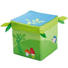 "Haba Σκαμπό αποθήκευσης ""Tο μαγεμένο δάσος"" Cubes, Kindergarten, Baby Room, Toy Chest, Storage Chest, Decorative Boxes, Lily, Furniture, Home Decor"