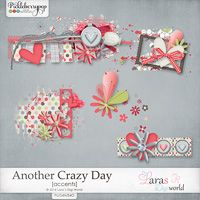 Another Crazy Day Accents by Lara´s Digi World