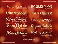 80 Tipografías Gratuitas para Navidad / 80 Free Christmas Fonts