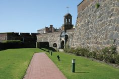 The Castle of Good Hope in South Africa was built in Cape Town between 1666 and 1679, replacing a small clay and timber fort built by a Dutch military Commander.