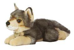realistic fur fox lifelike wolf amp raccoon stuffed animal - 236×162