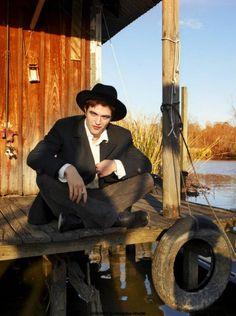 Robert Pattinson by Annie Leibovitz for Vanity Fair April 2011