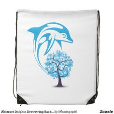 Shop Abstract Dolphin Drawstring Backpack created by Personalize it with photos & text or purchase as is! Dolphins, Drawstring Backpack, Backpacks, Abstract, Bags, Handbags, Summary, Dime Bags, Backpack