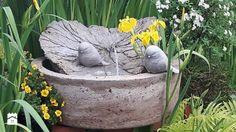 Dekoracje i ozdoby do ogrodu Kobea Ogrody i Bruki Produkcja i sprzedaż Fontanna do ogrodu - zdjęcie od gingerrudaziutka - gingerrudaziutka