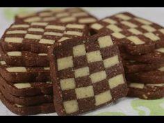 Checkerboard Cookies Recipe - Joyofbaking.com *Video Recipe*