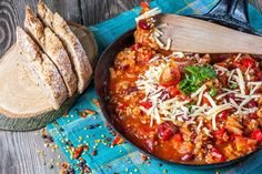 Skinny Pepperoni Pizza Chili weight watchers smart points recipe...7/SP