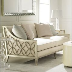 to Expect From Cassie Tufted Sofa? Cheap Furniture, Sofa Furniture, Luxury Furniture, Living Room Furniture, Living Room Decor, Furniture Design, Caracole Furniture, Furniture Websites, Furniture Outlet