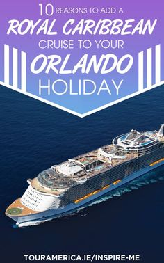Thinking of an Orlando holiday this year? Here's 10 reasons why you need to add a cruise on Royal Caribbean's Oasis of the Seas to your Orlando holiday! Visit Orlando, Orlando Travel, Orlando Vacation, Vacation Trips, Titanic Exhibition, Orlando Holiday, Royal Caribbean Oasis, Train Museum
