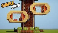 MINECRAFT : Tutorial Cara Membuat Rumah Pohon ! Minecraft Stuff, Minecraft Ideas, Minecraft Tutorial, Gaming, Videogames, Game