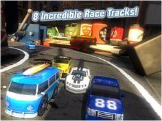Table Top Racing Premium Edition Playrise Digital  장난감 자동차 레이싱
