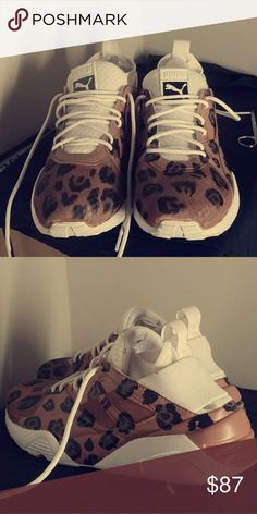 dbc4cb4913 Puma glory leopard custom Custom painted puma men. Brand new Puma Shoes  Sneakers Pumas Shoes