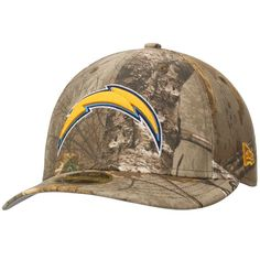 Los Angeles Chargers New Era Low Profile 59FIFTY Hat - Realtree Camo