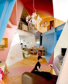 Apartment – House by Kochi Architect's Studio