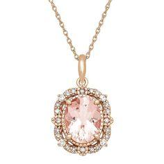 Diamond Gemstone, Diamond Jewelry, Key Jewelry, Jewelry Necklaces, Jewellery, Bracelets, Morganite Jewelry, Gold Rope Chains, Rose Gold Pendant